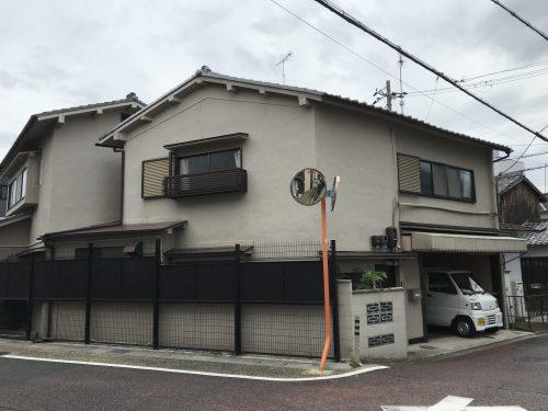 阪急西院駅徒歩11分 角地一戸建て賃貸